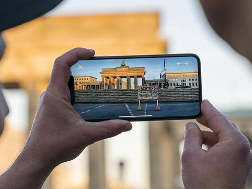 Augmented Reality macht Berliner Mauer erlebbar - IT-ZOOM