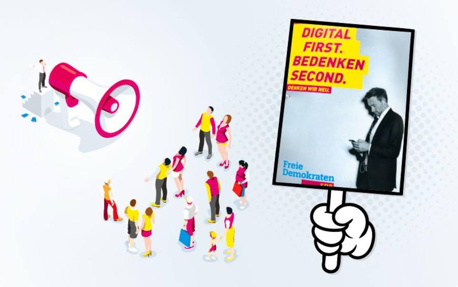 Digital First Bedenken Second