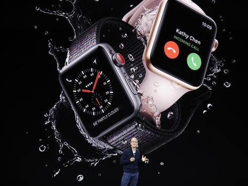 Apple Watch führend im Wearables-Markt