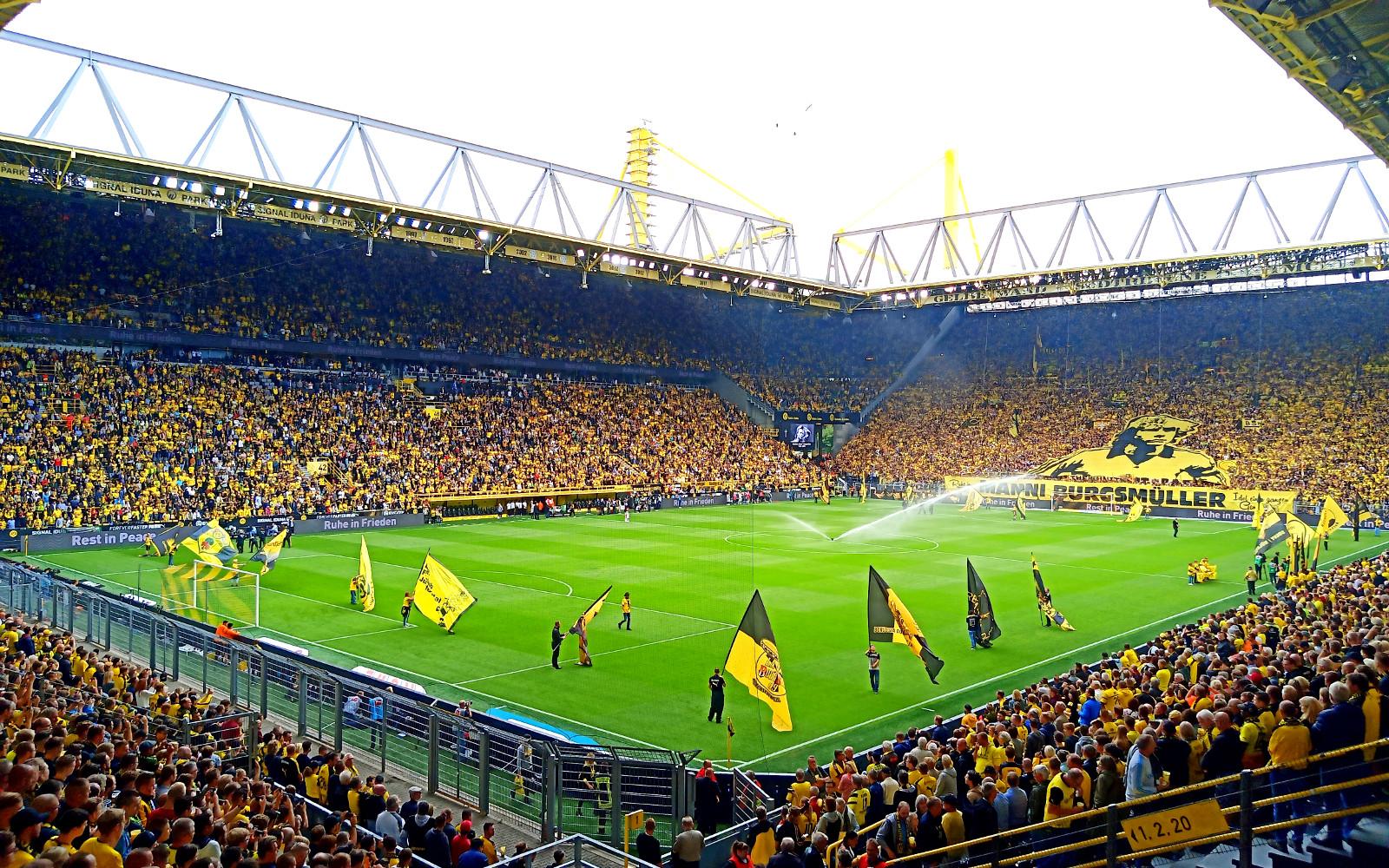 Heimspiele Bvb 2021